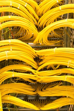 Network LAN patch panel