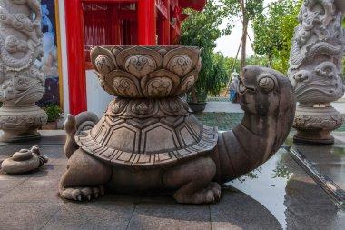 Sanya Nanshan Buddhist Tantric kiosks owned by Ito-Yokado handwashing