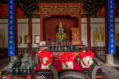Yunnan Honghe Prefecture Jianshui Confucius Temple Great Hall