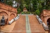 Suthep in Monaco successivo di Chiang Mai, Thailandia come il piede