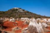 Yunnan Haifeng mokřadní hrany červené půdy