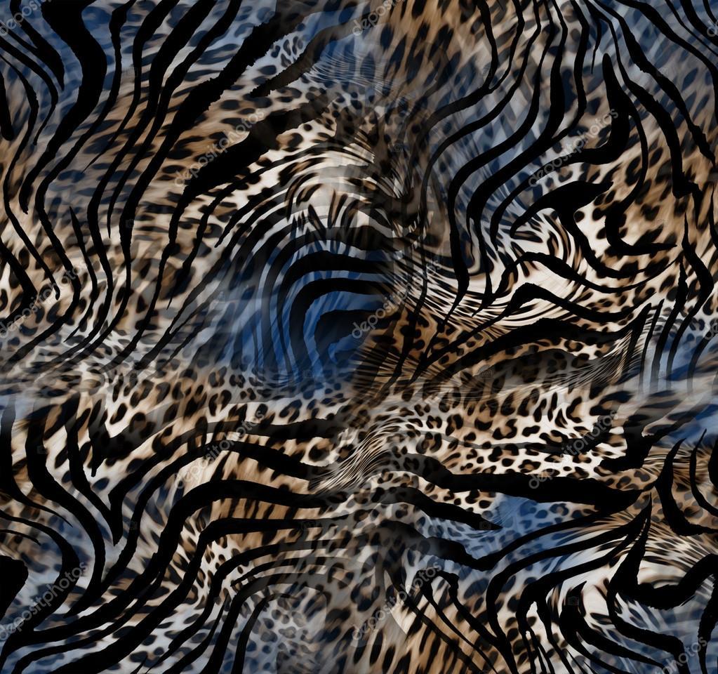 leopard zebra skin