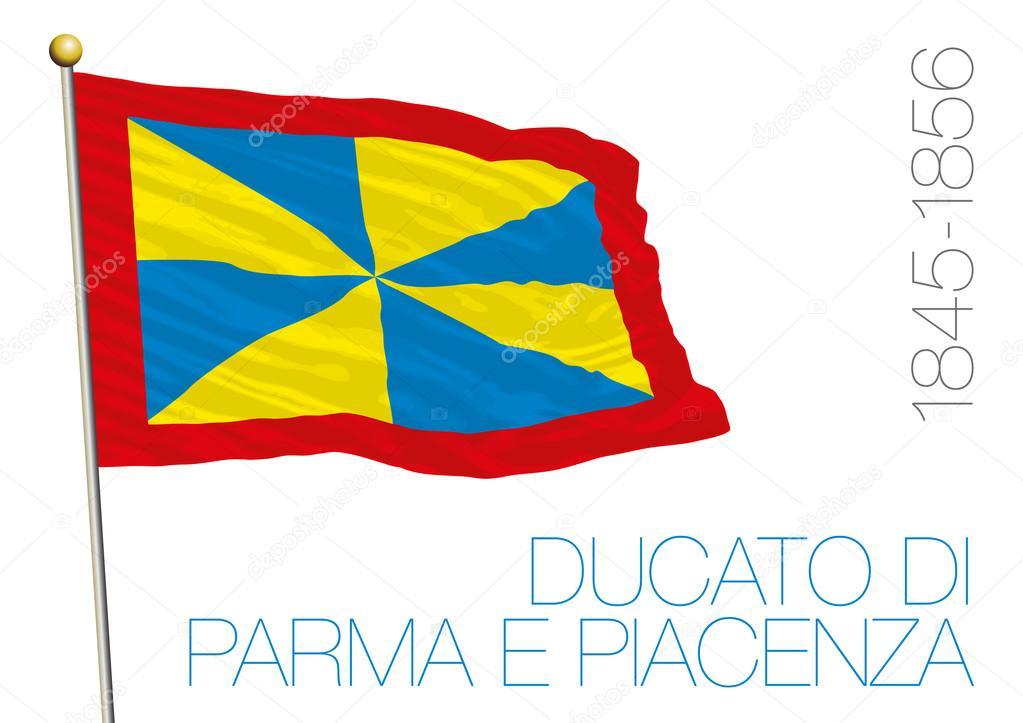歴史的な旗、イタリア パルマ公...