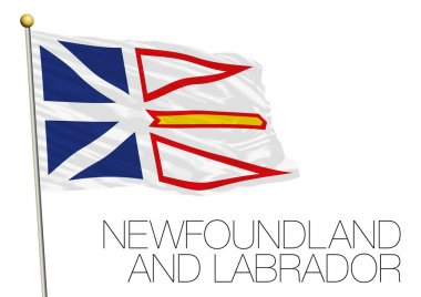 Newfoundland and Labrador flag, Canada