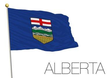 Alberta flag, Canada