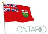 Fotografie Flagge von Ontario, Kanada