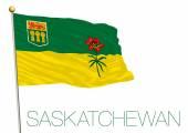Fotografie Flagge von Saskatchewan, Kanada
