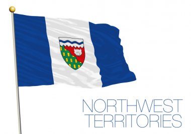 Northwest territories flag, Canada