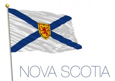 Nova Scotia territories flag, Canada