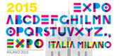 Expo 2015 font