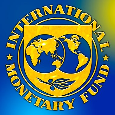 international monetary fund logo, editorial, washington