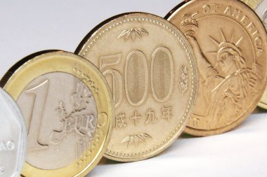 yen, japan currency coin