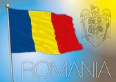 Fotografie romania flag