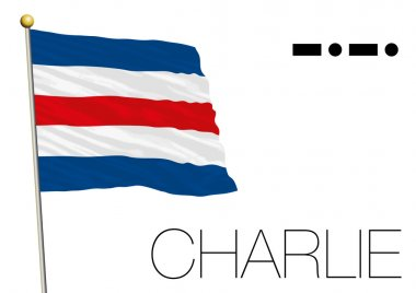 Charlie flag, International maritime signal