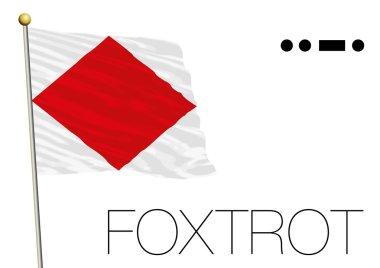 foxtrot flag, International maritime signal