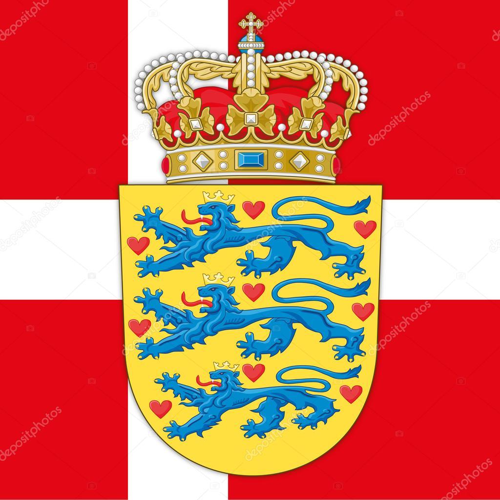 картинки флага и герба дании нее могут
