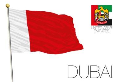 Dubai regional flag, United Arab Emirates