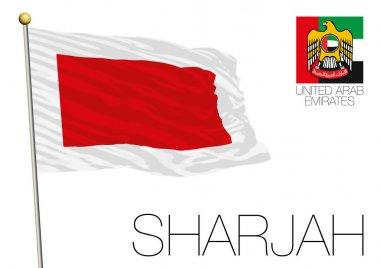Sharjah regional flag, United Arab Emirates