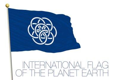 international earth flag for mars mission
