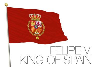 felipe vi flag, spain
