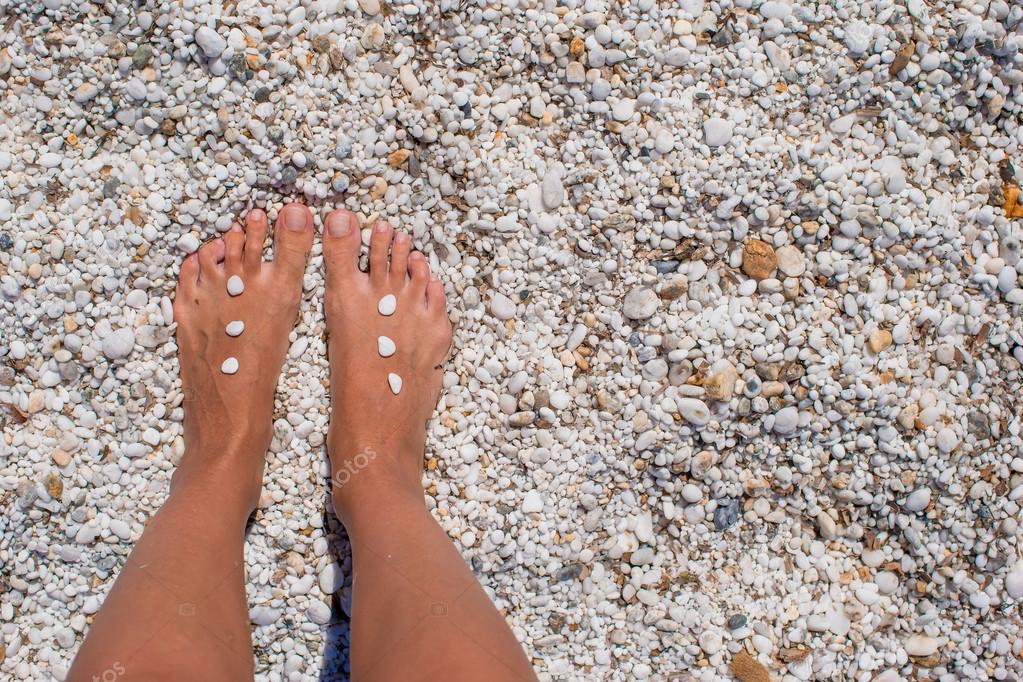 Женские стопы крупный план — photo 2