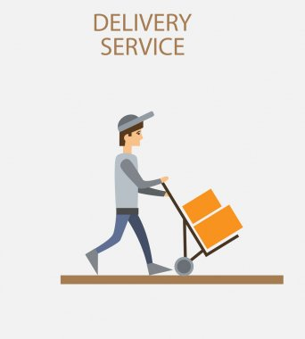 Delivery person freight logistic  industry