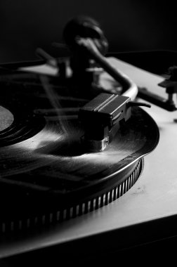 Old vinyl record.