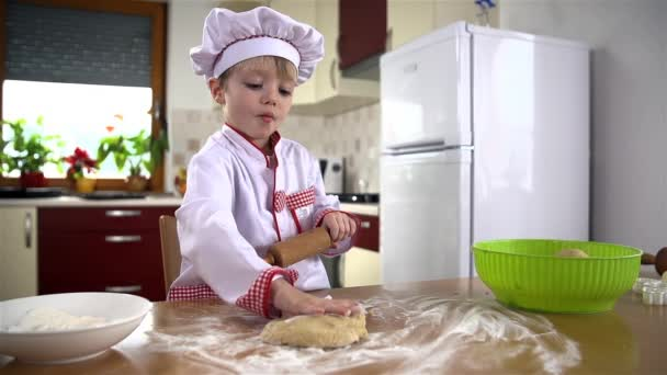 Cook greases dough