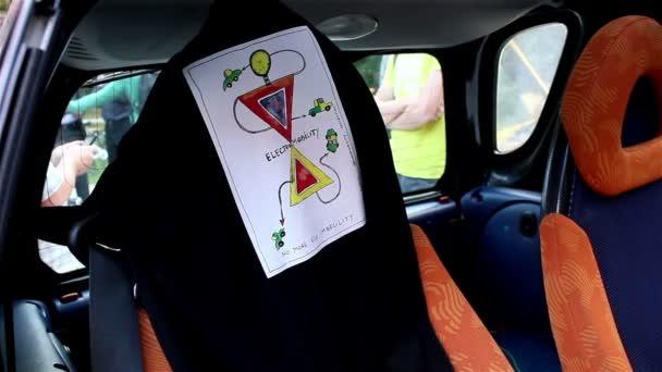 Označení pro mobilitu auto elektro