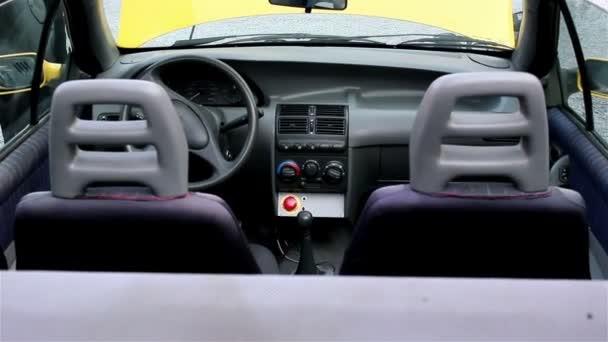 Elektrické auto zezadu