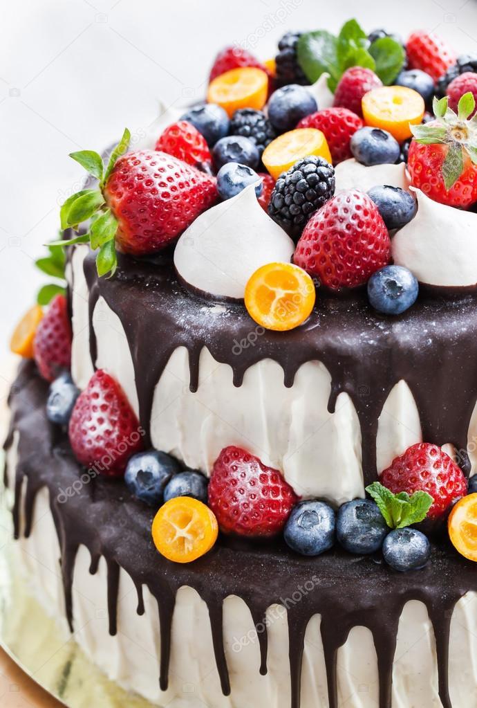 Cake Icing Stock