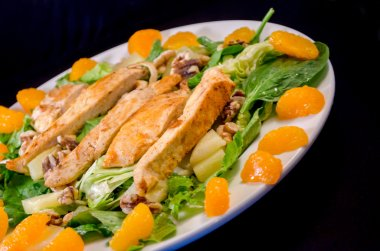 Pineapple Orange Chicken Salad