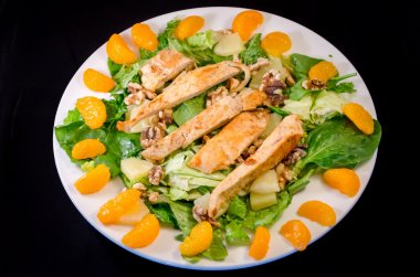 Chicken, Pineapple, Orange Salad