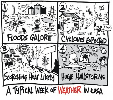 Weather forecasts for floods