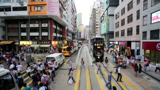 Pohled na město Hong kong