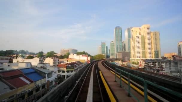 Il citview da mobile Lrt treno