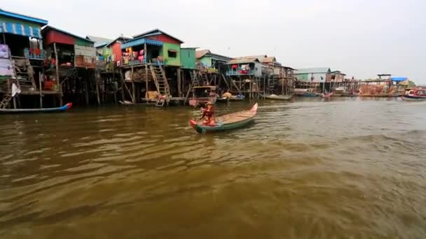 Floating village view