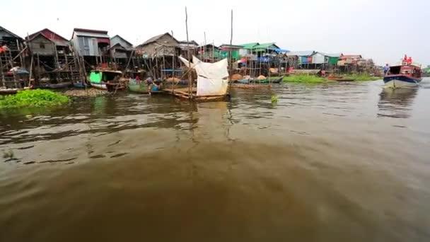 Plovoucí vesnice pohled