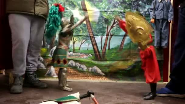 Spanish puppet show