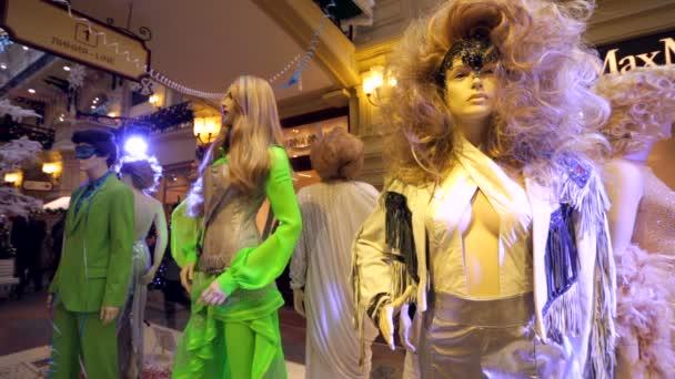Public exhibition of costumes