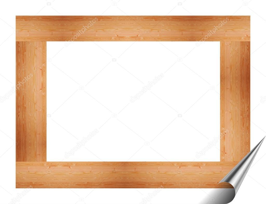 Marco de madera para cuadros y pinturas — Fotos de Stock ...