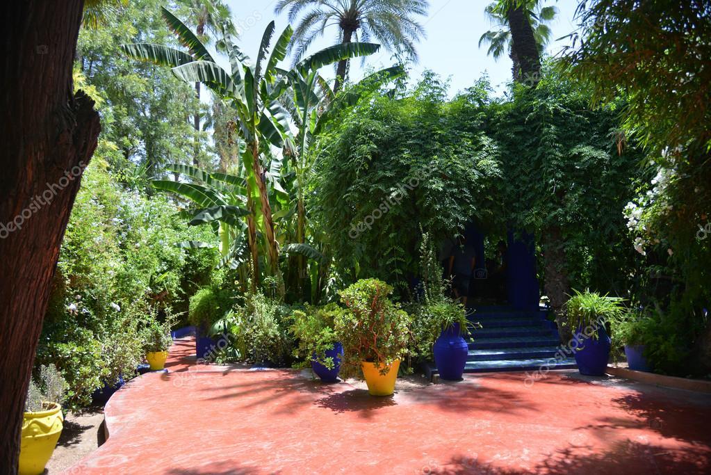 Jardin Majorelle Marrakesh Morocco Stock Photo C Freeprod 79970034
