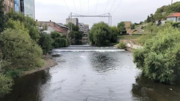 Romania river in Cluj napoca, somesul mic river in cluj napoca