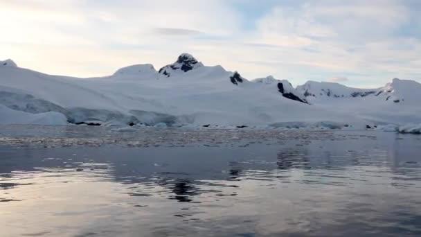 Antarktische Berglandschaft