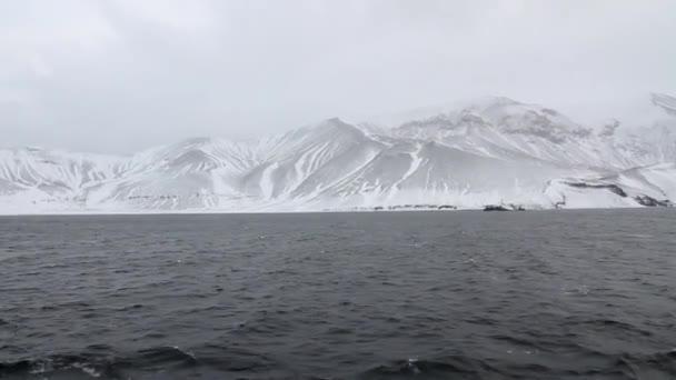 Krásný Antarktida krajina