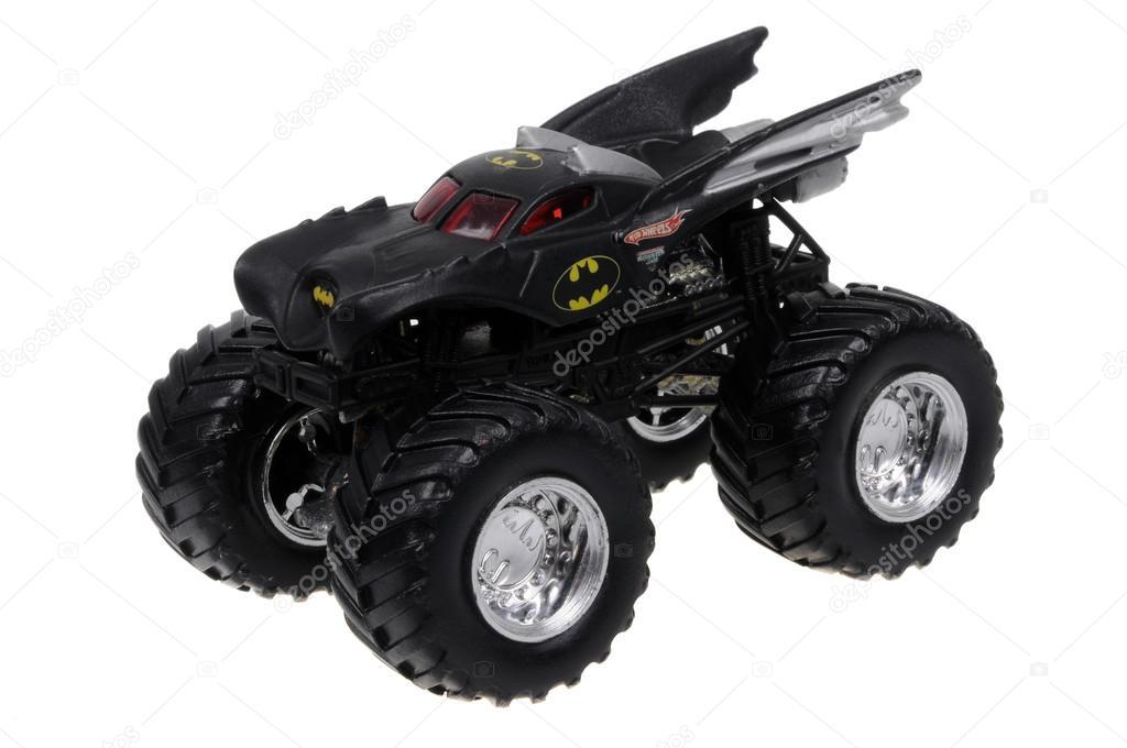 Coche De Batman Monster Carro Hot Wheels Juguete Fundido A Troquel