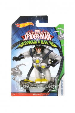 Ultimate Spiderman Doctor Octopus Hot Wheels Diecast Toy Car