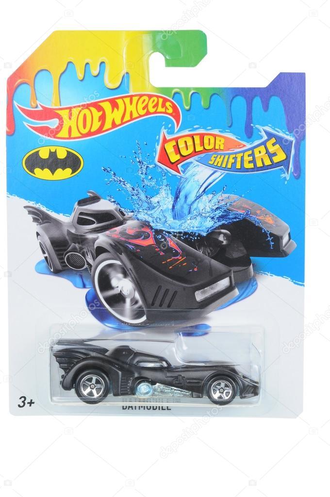 Batmobile Hot Wheels Colour Shifters