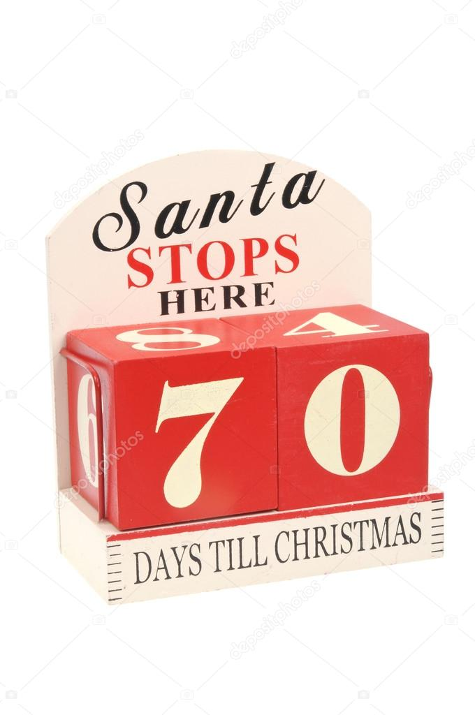 Until Christmas 70 Days Till Christmas.70 Days To Christmas Stock Photo C Ctrphotos 108204542