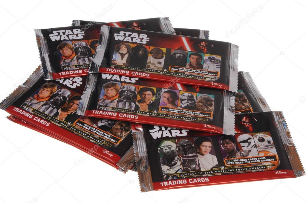 Star Wars Journey To The Force Awakens Trading Cards Stock